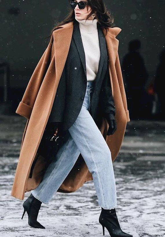 Модный образ в стиле casual Coat