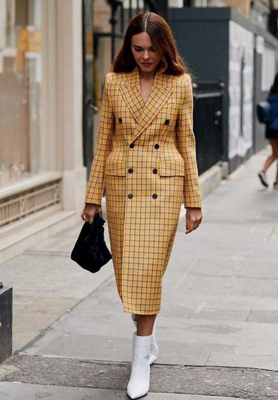 Модный образ в стиле Деловой London Fashion Week SS'19