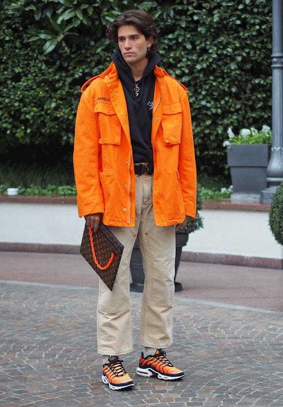 Модный образ в стиле Casual orange