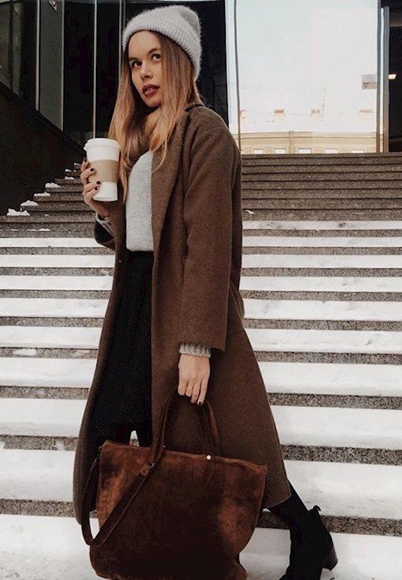 Модный образ в стиле business casual Busy
