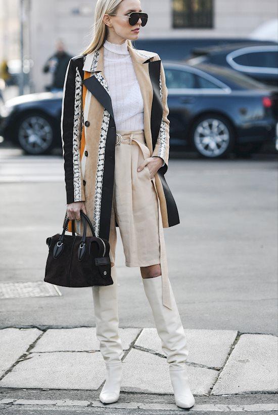 Модный образ в стиле Деловой Milan's look