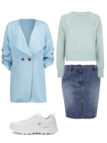 Для прохладной погоды - сеты модной одежды