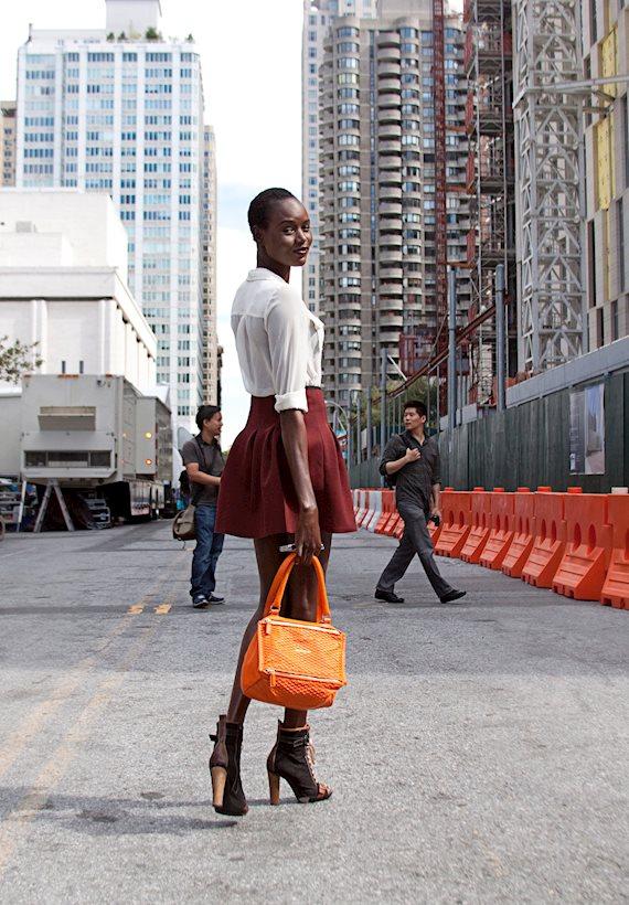Модный образ в стиле Романтический New York City