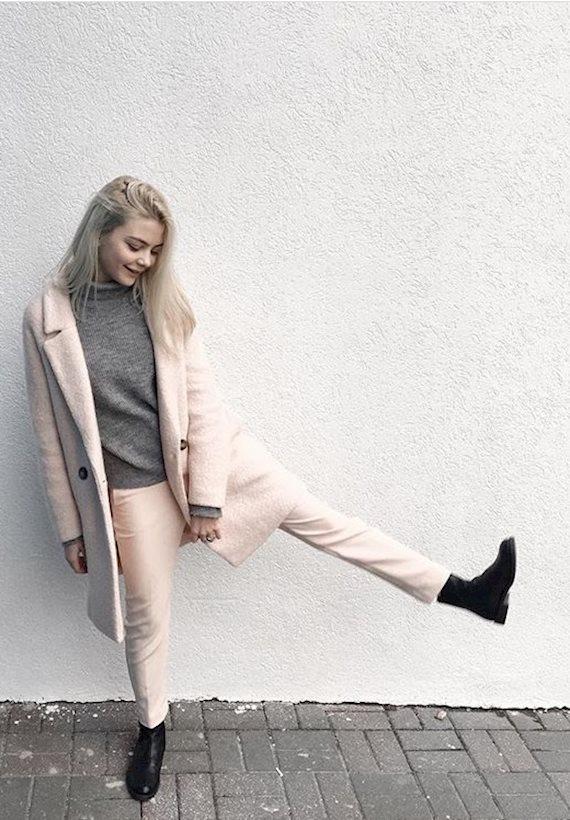Модный образ в стиле business casual October