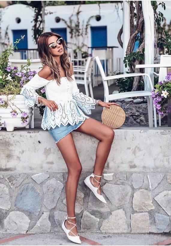 Модный образ в стиле Пляжный Summer vibes