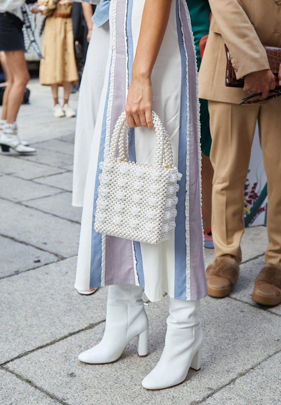 Модный образ в стиле Романтический white mood