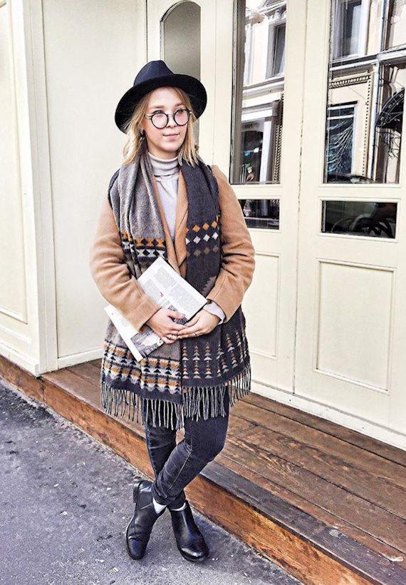 Модный образ в стиле Кантри The hat